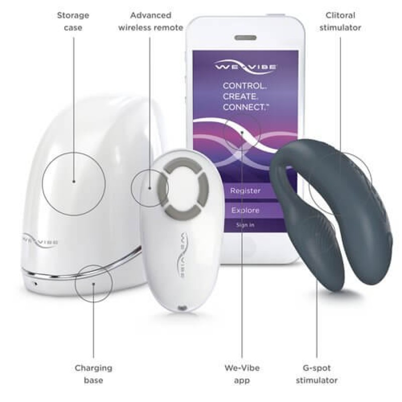 We-Vibe 4 Plus  / Colour: Slate