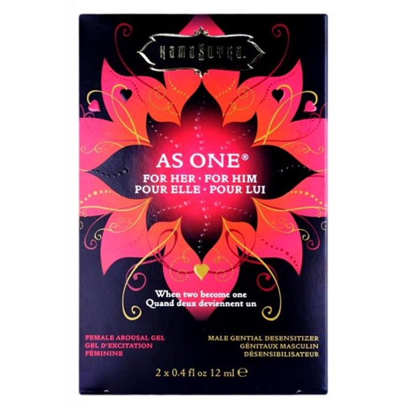 Kama Sutra As One Lover's Kit - 2 x 4 fl.oz / 12 ml
