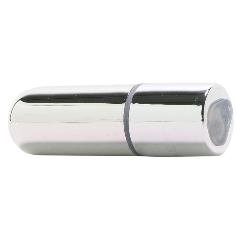 Wireless Rechargeable Mini Bullet Vibe in Silver