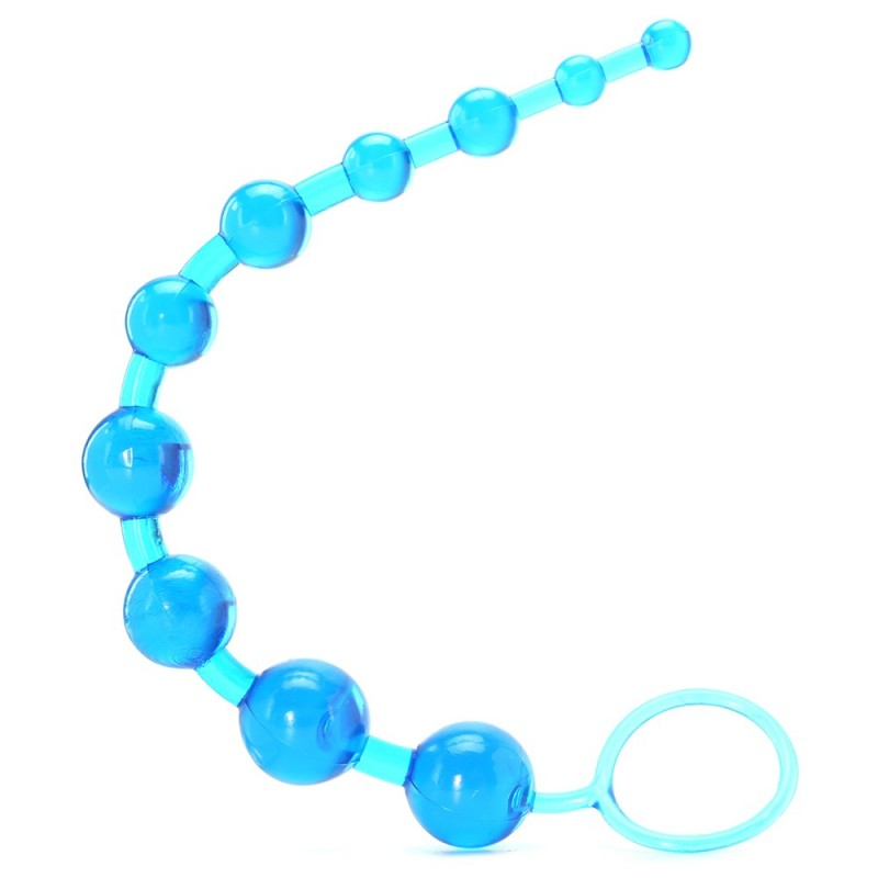 X-10 Anal Beads in Blue