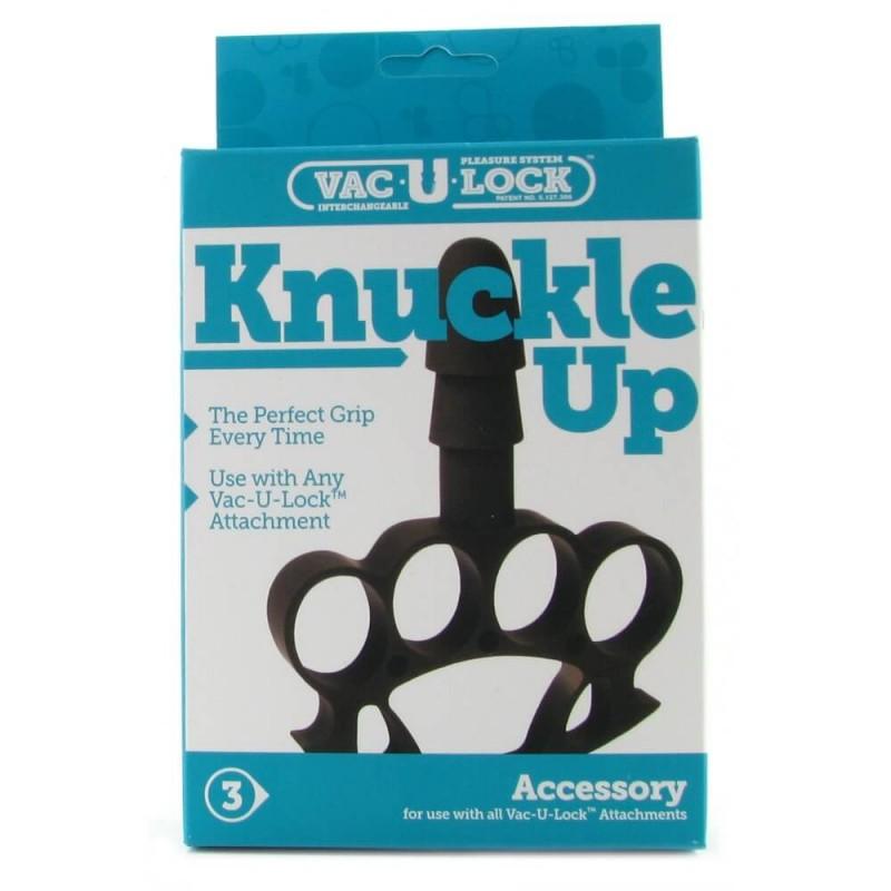 Knuckle Up Vac-U-Lock Accessory in Black