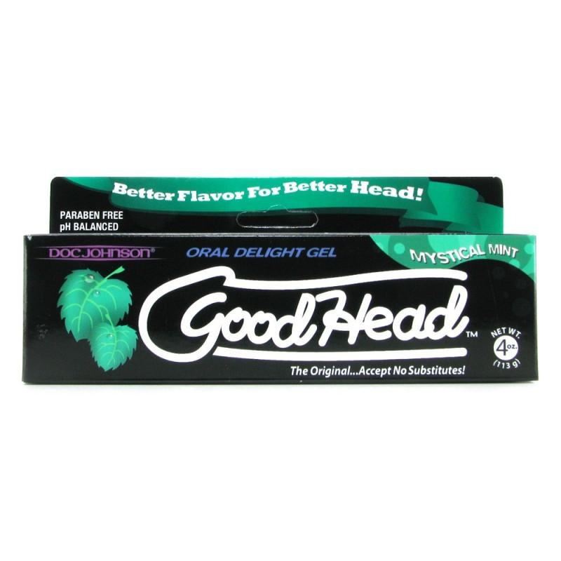 GoodHead Oral Delight Gel 4oz/113g in Mystical Mint