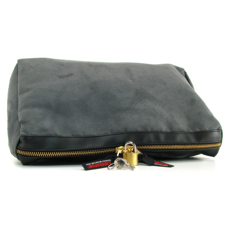FREE w$219.95+order Tallulah Toy Case in Charcoal Microsuede
