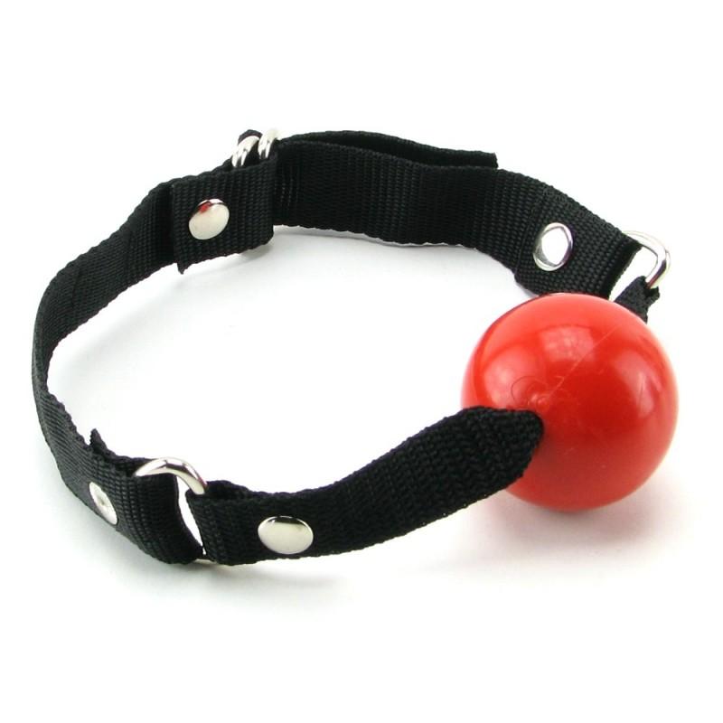 Beginner's Ball Gag in Red