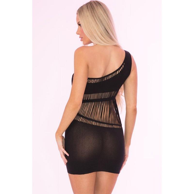 OS Dare You! One Shoulder Dress