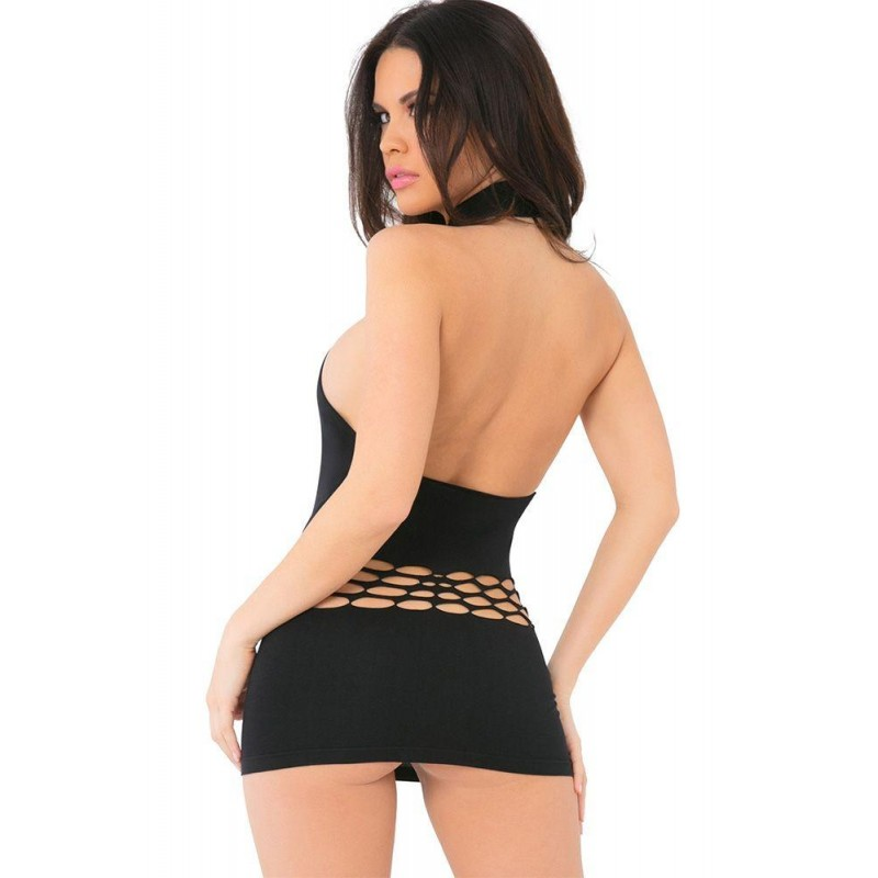 Womanizer Seamless Black Dress in OS