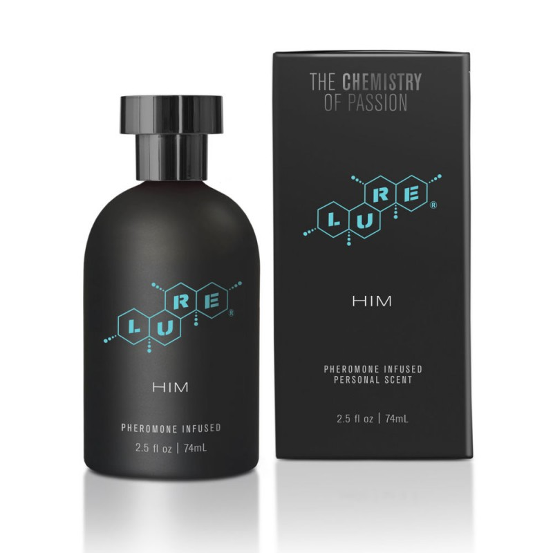 For Him Pheromone Perfume Lure Black Label