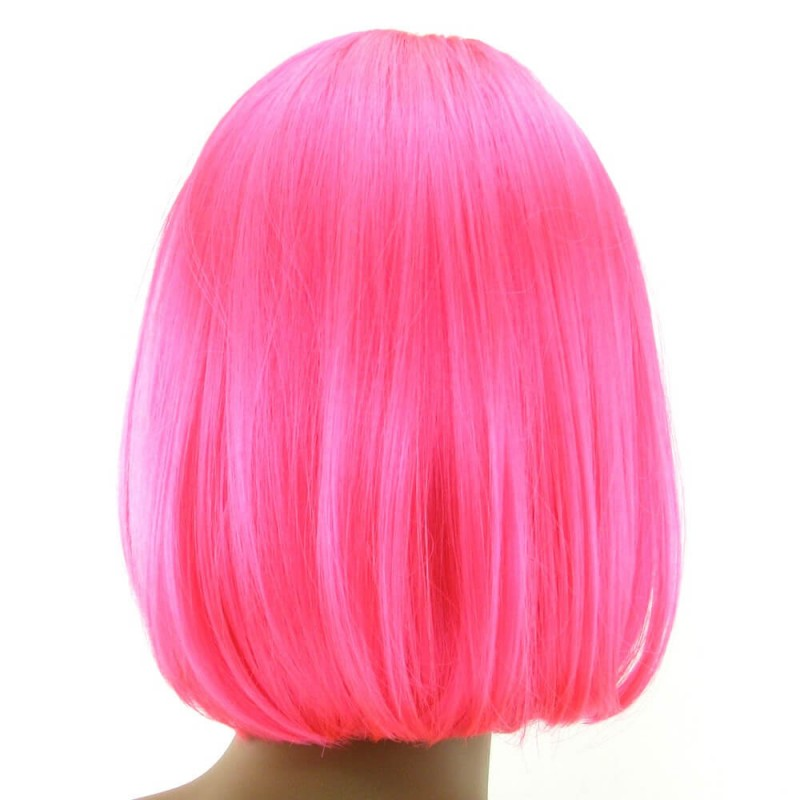 Cici Wig in Hot Pink