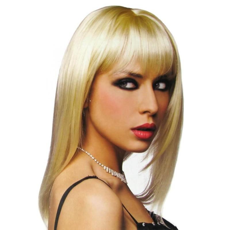 Steph Wig in Platinum Blonde