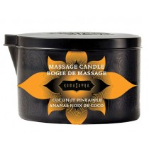 Kama Sutra MASSAGE CANDLE - COCONUT PINEAPPLE
