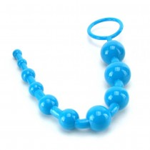 Shane's World Advanced Anal 101 Beads in Blue