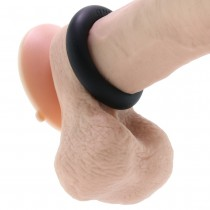 "Bone Yard Ultimate 3X Silicone 2"" Cock Ring in Black"