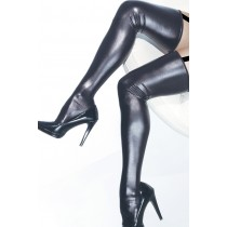 OSXL Wet Look Thigh High's