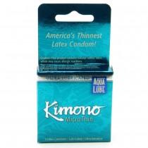 MicroThin Aqua Lube Condoms in 3 Pack