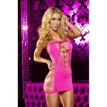 OS Backroom Hot Pink Mini Dress