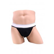 Apollo Black Brief with C-Ring in L/XL