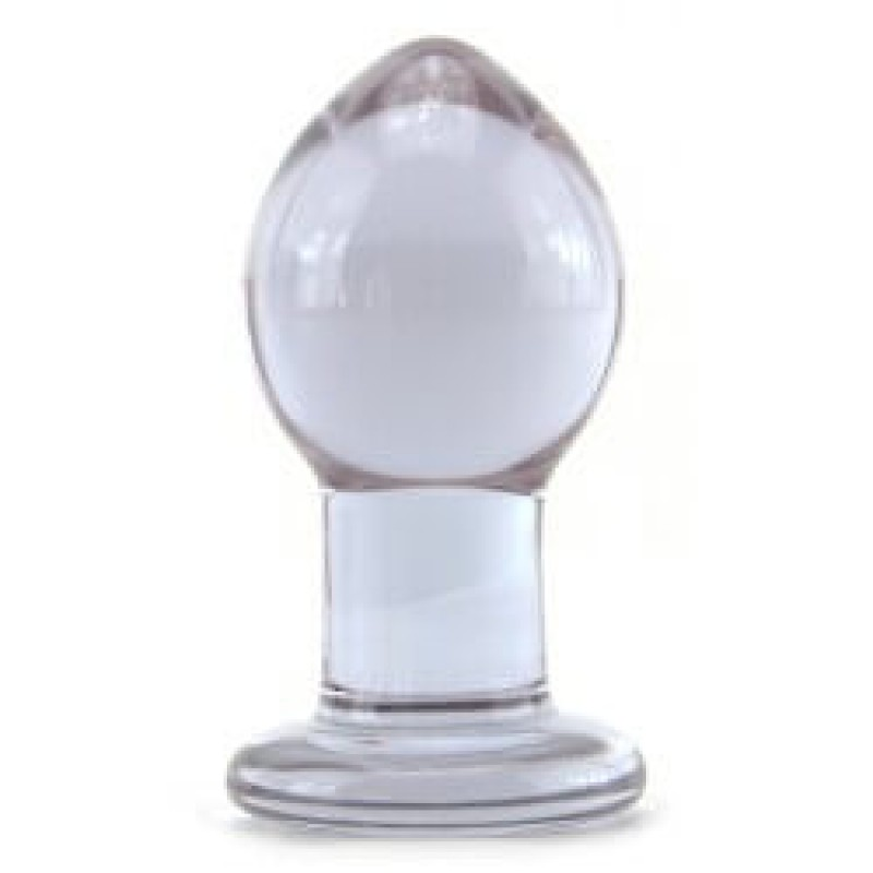 Crystal Premium Glass  Butt Plug