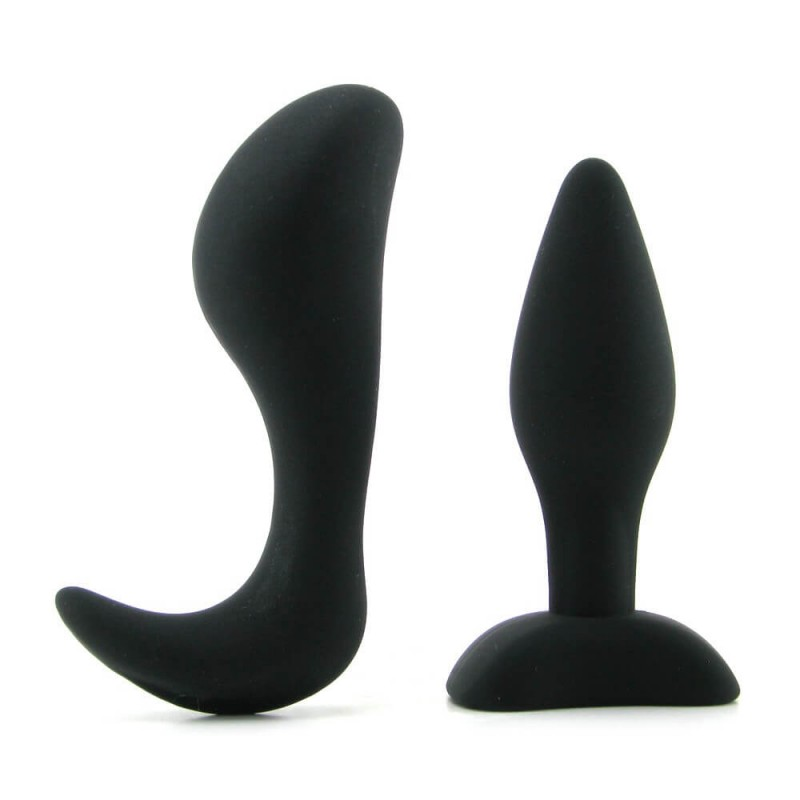 Dominant Submissive Collection Silicone Butt Plugs