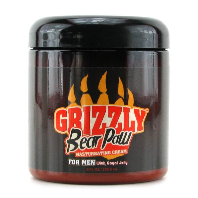 Masturbation Cream Grizzly Bear Paw 8oz/236.5ml