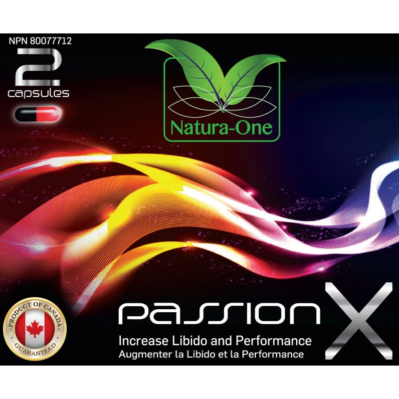 Passion X - Increase Libido and Performance Pills - 2 Pack