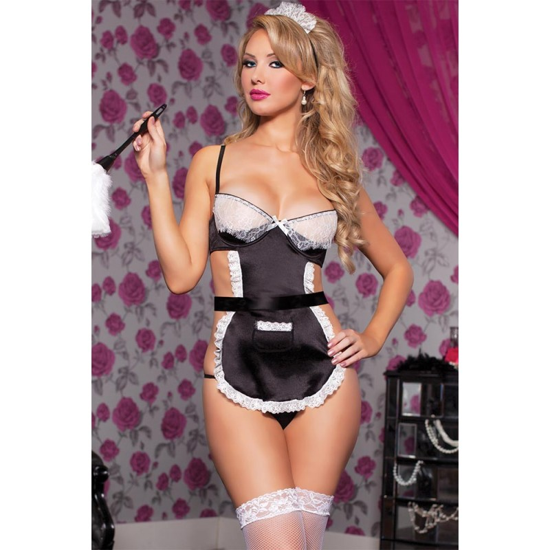 OS French Maid Bedroom Costume