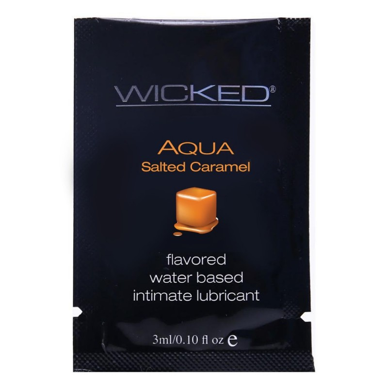 FREE Aqua Salted Caramel Flavored Lube