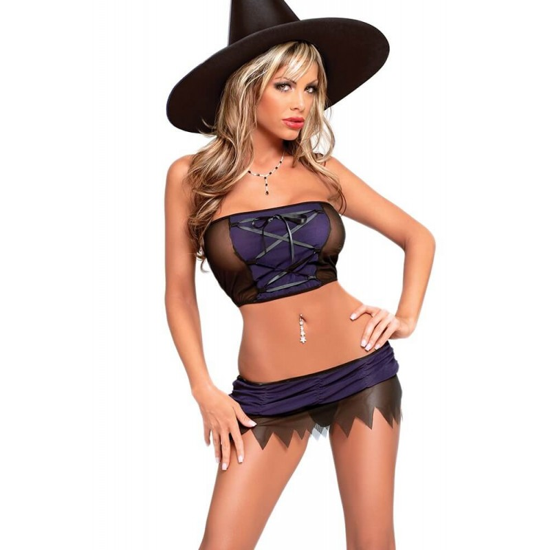 L/X Wicked Witch Costume Black